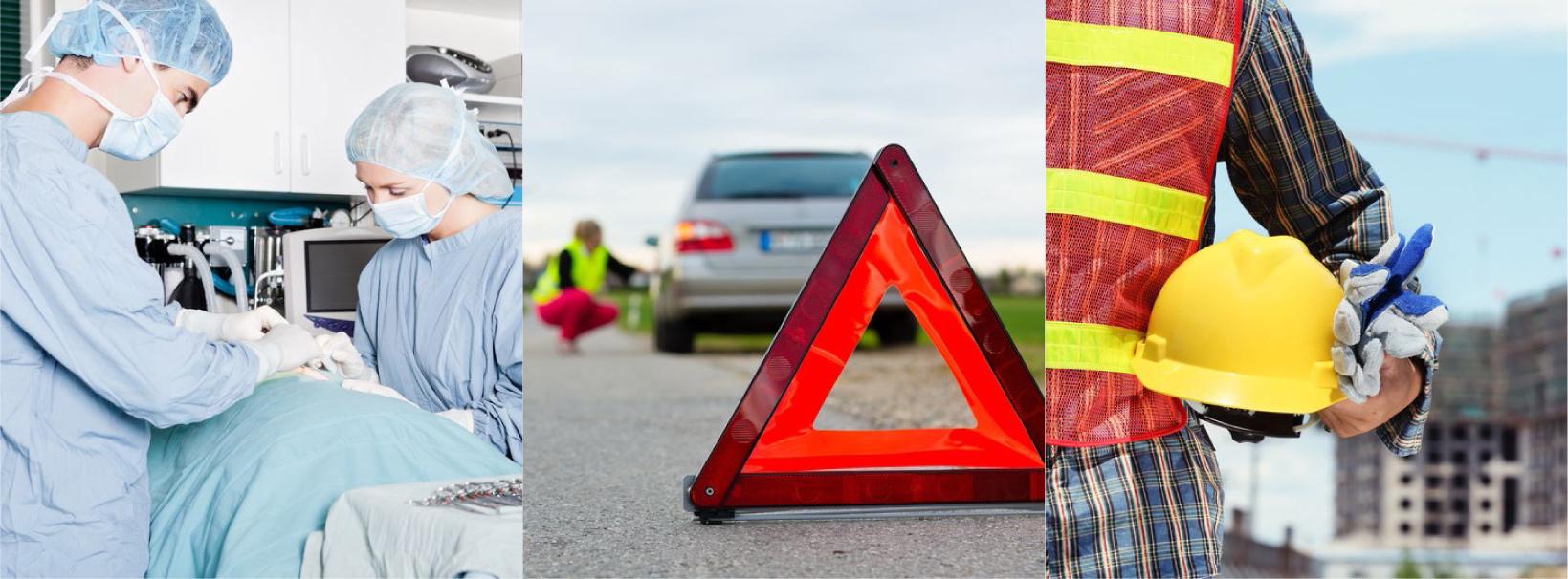 Áreas de práctica principales de Onandia Abogados Barcelona: indemnizaciones de accidentes de tráfico, incapacidades laborales y negligencia médica