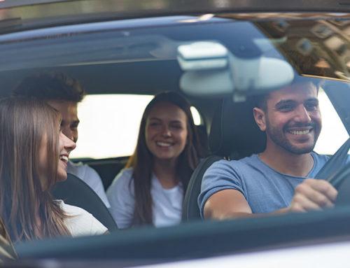 Accidente de tráfico en un vehículo de BlaBlaCar