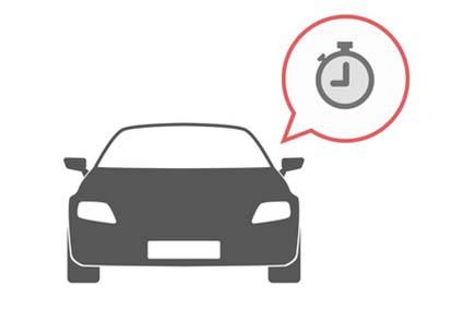 Imagen que representa un accidente de tráfico laboral dentro de la jornada de trabajo
