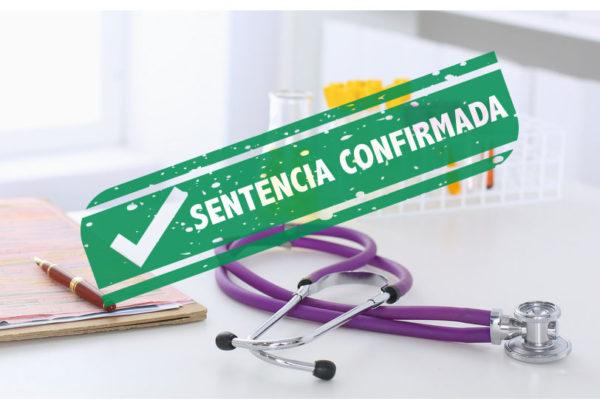 Confirmación sentencia de indemnización por negligencia médica