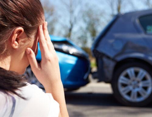 Indemnización por un accidente de tráfico de baja intensidad o leve