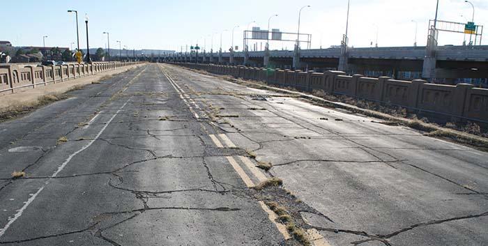 Accidente por carretera en mal estado
