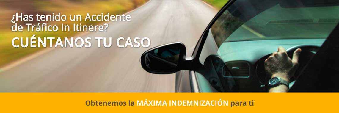 En Onandia Abogados de Barcelona te garantizamos la máxima indemnización en caso de accidente de tráfico in itinere. Solo cobramos si recibes indemnización